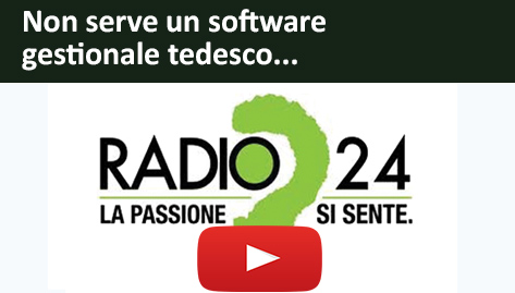 Non serve un software gestionale tedesco..