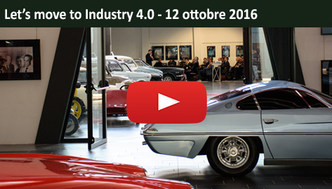 Video evento Let's Move To Industry 4.0 - 12 ottobre 2016